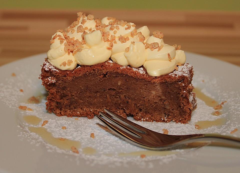 Saftiger Erdnussbutter Apfelmus Kuchen Von Ebbhead Chefkoch De