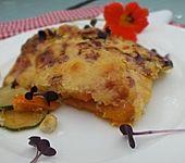 Kürbis-Zucchini Gratin (Bild)