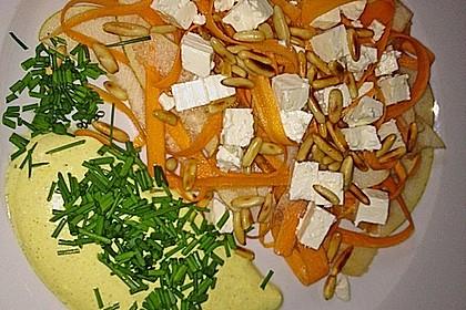 Karotten-Birnen-Salat 2