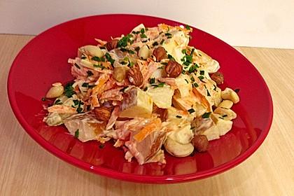 Karotten-Birnen-Salat 3