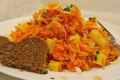 Karotten-Birnen-Salat