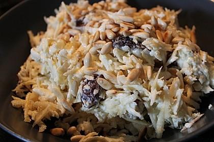 Arabischer Pastinaken-Dattel Salat 4