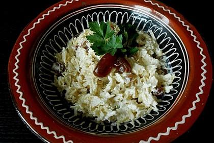 Arabischer Pastinaken-Dattel Salat 1
