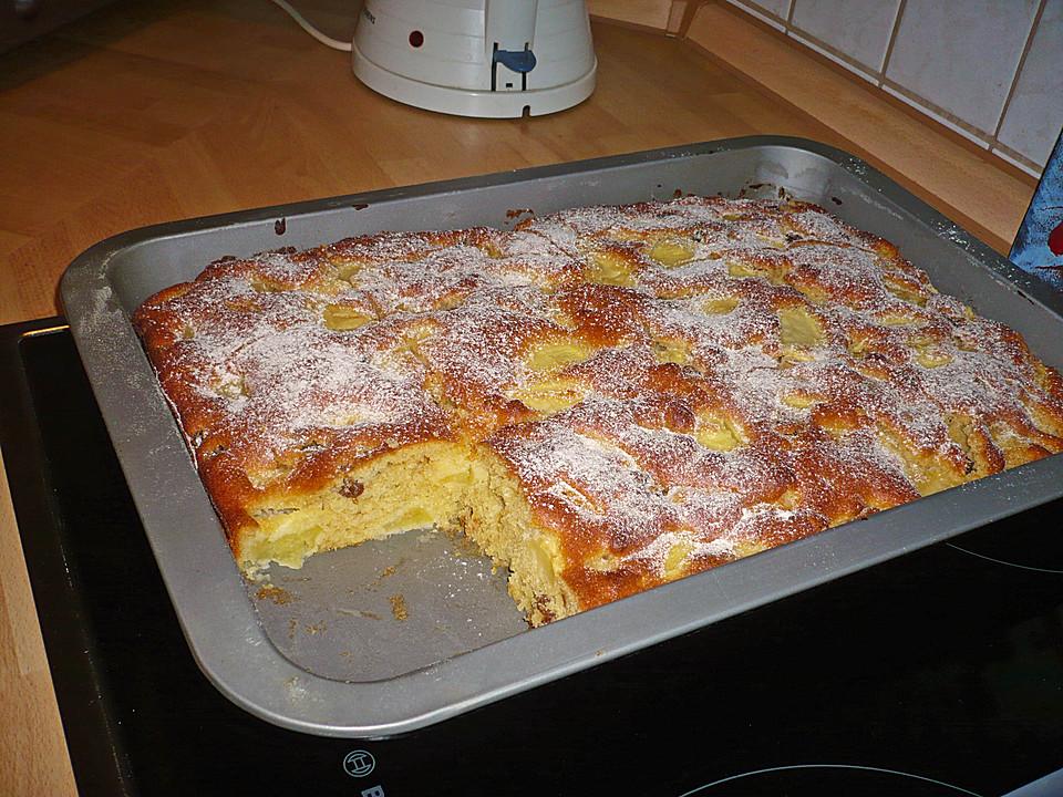 Apfelkuchen Schnell Und Einfach Von Backbarlein Chefkoch De