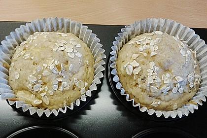 Leichte Apfel-Muffins mit Haferflocken und Zimt 11