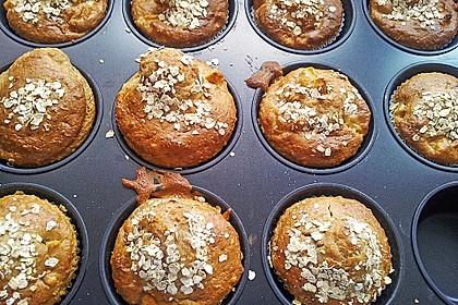 Leichte Apfel-Muffins mit Haferflocken und Zimt 8