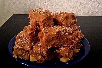 Leichte Apfel-Muffins mit Haferflocken und Zimt 9