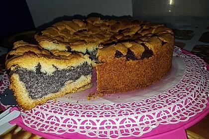 Pudding-Mohn-Kuchen 5