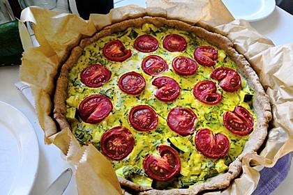 Vegane Tomaten-Quiche 12