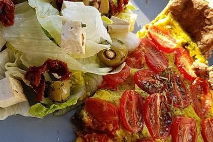 Vegane Tomaten-Quiche 8