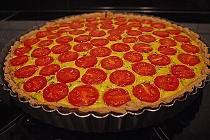 Vegane Tomaten-Quiche 9