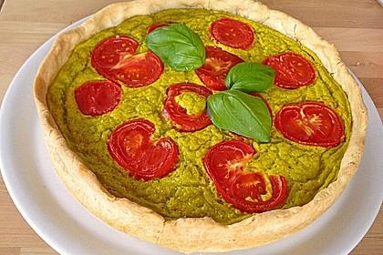Vegane Tomaten-Quiche 34