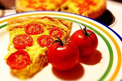 Vegane Tomaten-Quiche 3
