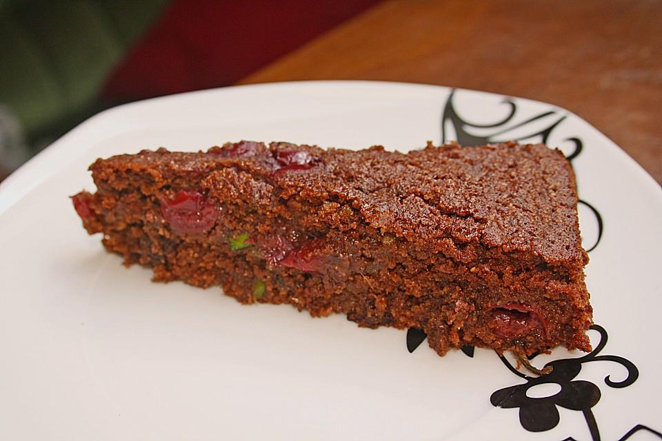 Zucchini Kirsch Kuchen Von Mohrchen13 Chefkoch De