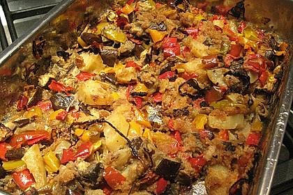 """Mediterraner Gemüseauflauf """"verdure al forno"""" 1"""