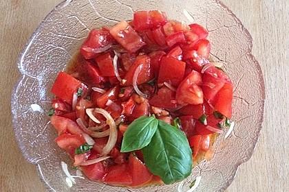Tomatensalat (Bild)