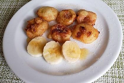 Gebackene Banane mit Honig 41