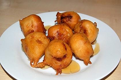 Gebackene Banane mit Honig 19