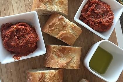Schnelles veganes Tomatenpesto