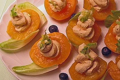 Pfirsich an Frischkäse 5
