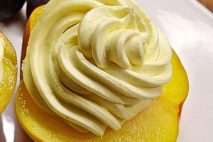 Pfirsich an Frischkäse 3