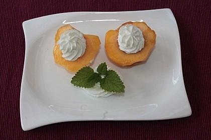 Pfirsich an Frischkäse 9