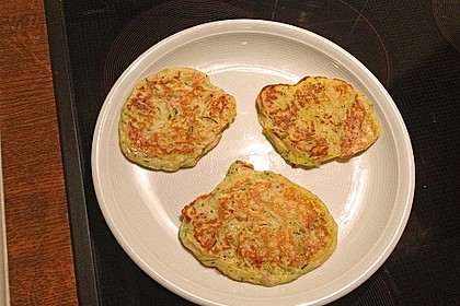 Zucchini-Schinken-Pfannkuchen für kleine Feinschmecker 2