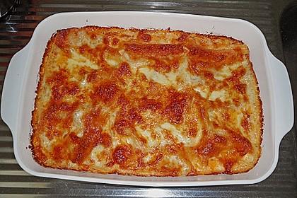 Tomaten-Lachs Lasagne