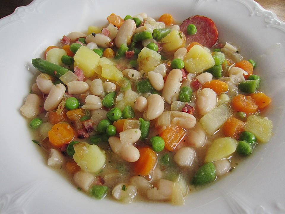 Weiße Suppe