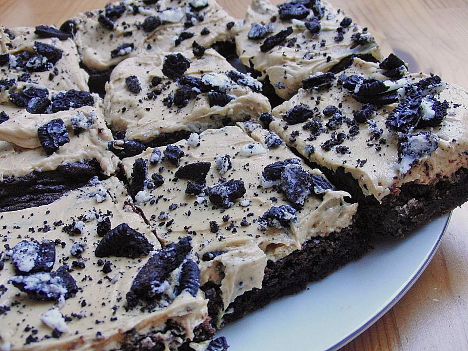 Erdnussbutter Oreo Brownies Von Cab2cr Chefkoch De