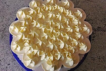 Pfirsich-Maracuja Torte mit Schokoboden
