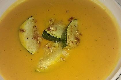 Kürbis-Kokos-Ingwer Suppe 2