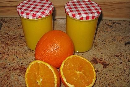 Orangen Curd-Frischkäsecreme 3