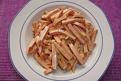 Bayrischer Wurstsalat 3