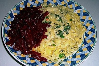 Rote Bete mit Meerrettich-Pasta 4