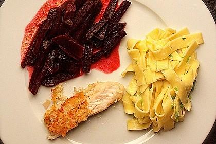 Rote Bete mit Meerrettich-Pasta 2