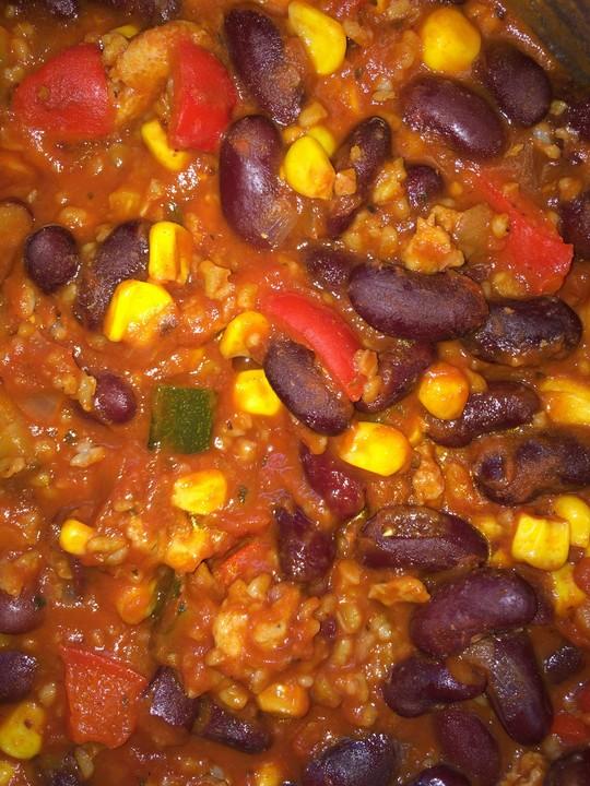 Vegetarisch Veganes Chili Sin Carne Supernova Von Supernova 2010