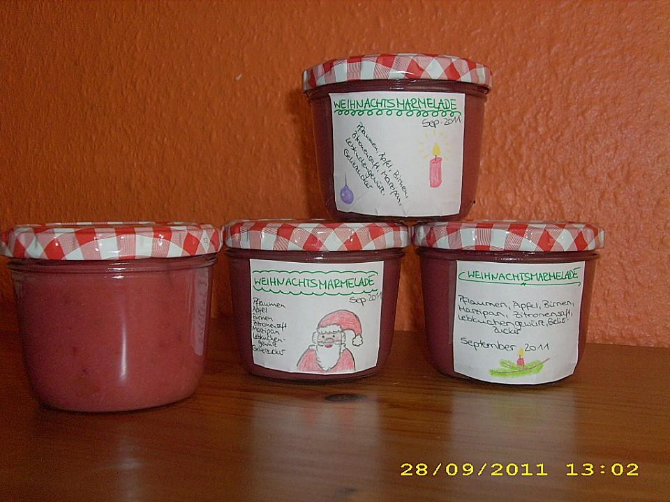 Leilanis Weihnachtsmarmelade Von Leilani87 Chefkoch De