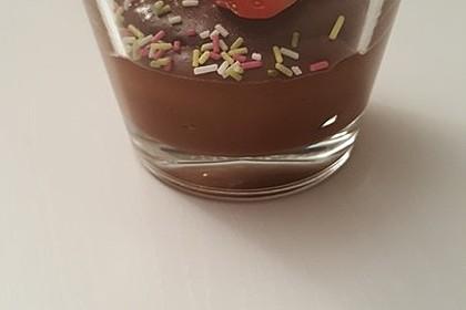 Gourmet-Schoko-Pudding selbstgemacht, sahnig und schokoladig 46