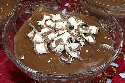 Gourmet-Schoko-Pudding selbstgemacht, sahnig und schokoladig 24