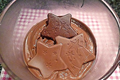 Gourmet-Schoko-Pudding selbstgemacht, sahnig und schokoladig 8