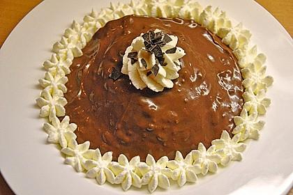 Gourmet-Schoko-Pudding selbstgemacht, sahnig und schokoladig 14