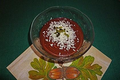 Gourmet-Schoko-Pudding selbstgemacht, sahnig und schokoladig 7