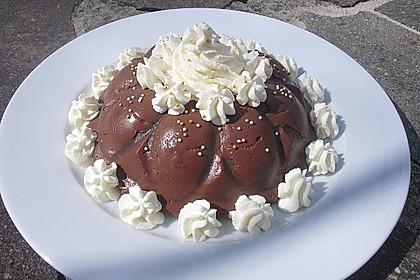 Gourmet-Schoko-Pudding selbstgemacht, sahnig und schokoladig 5