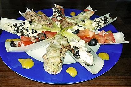 Oliven-Schafskäse-Tomaten Gericht