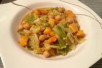 Spitzkohl-Curry (Bild)