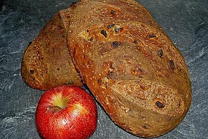 Apfel-Basilikum-Brot (Bild)