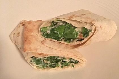 Cesar Salad-Wraps 2
