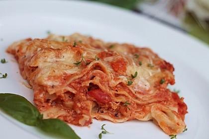 Vegetarische Lasagne al Forno