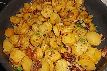 Champignon-Kartoffel-Omelette 2